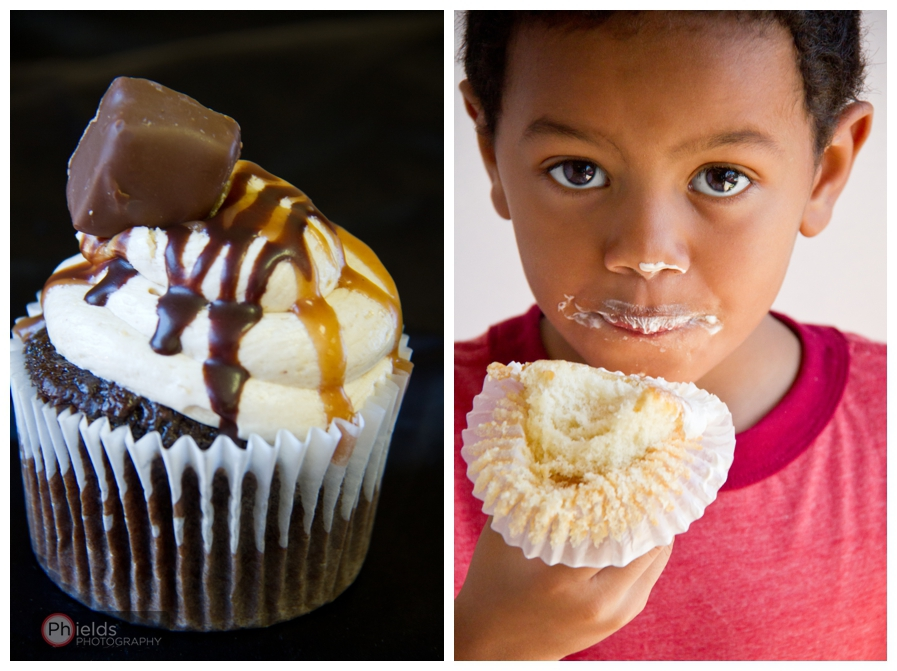 Snicker Cupcake - Sweet Confessions Cafe