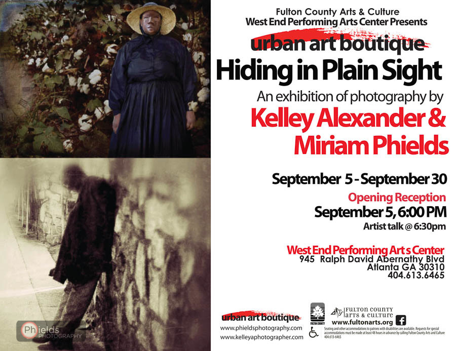 Atlanta Photography Exhibition by Kelley Alexander and Miriam Phields | Sept. 5 - 30, 2014